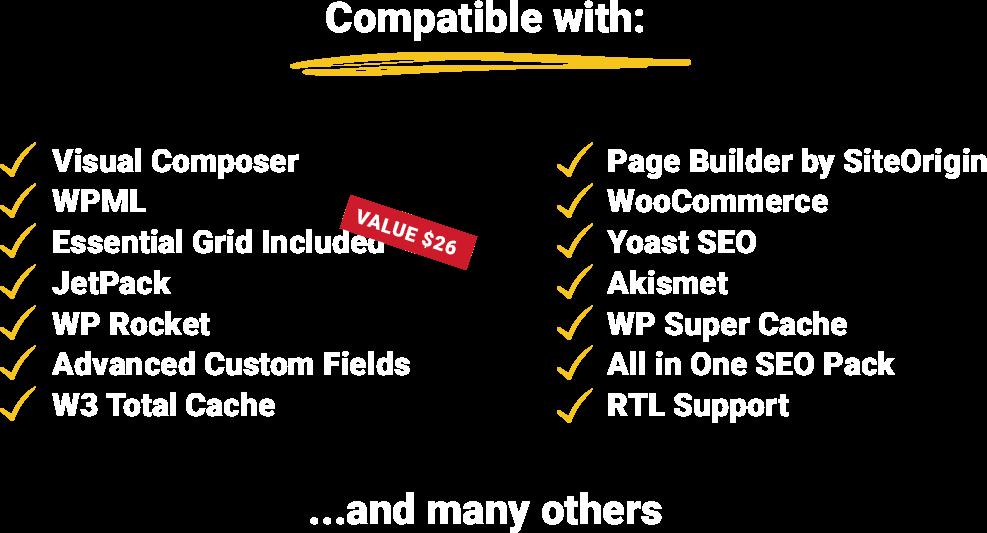 BuildPress Features