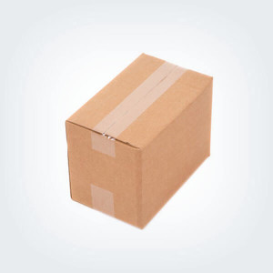 Small Brown Carton Box