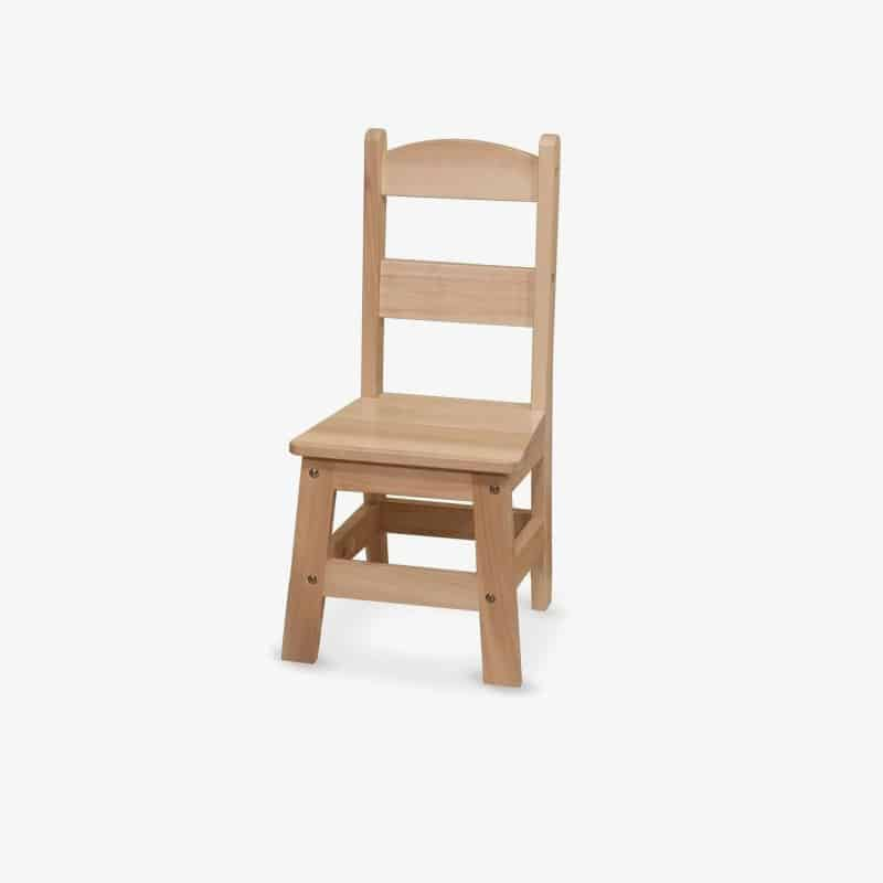 single wooden chair